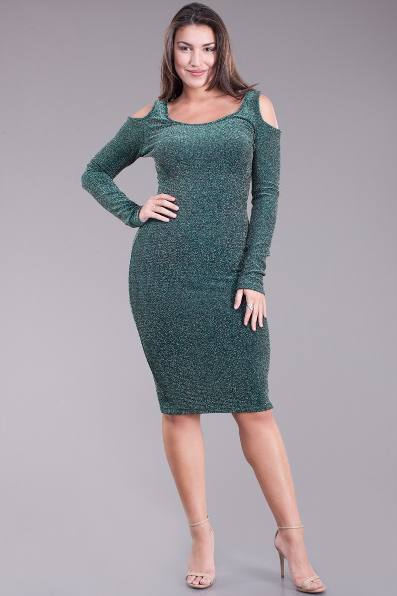 Body con dress - orangeshine.com