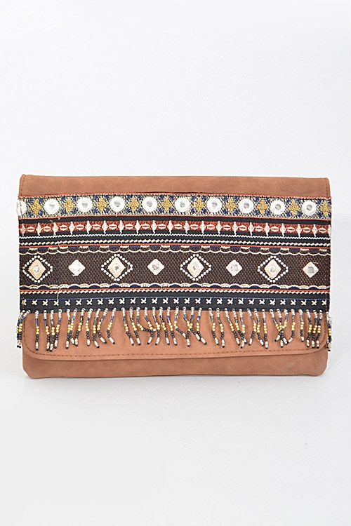 Indian Inspired Patterned - orangeshine.com