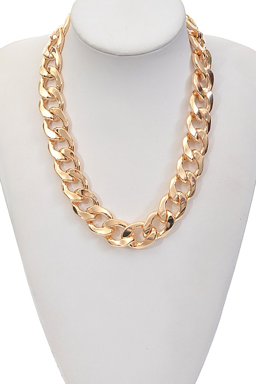 Basic Chain Necklace - orangeshine.com