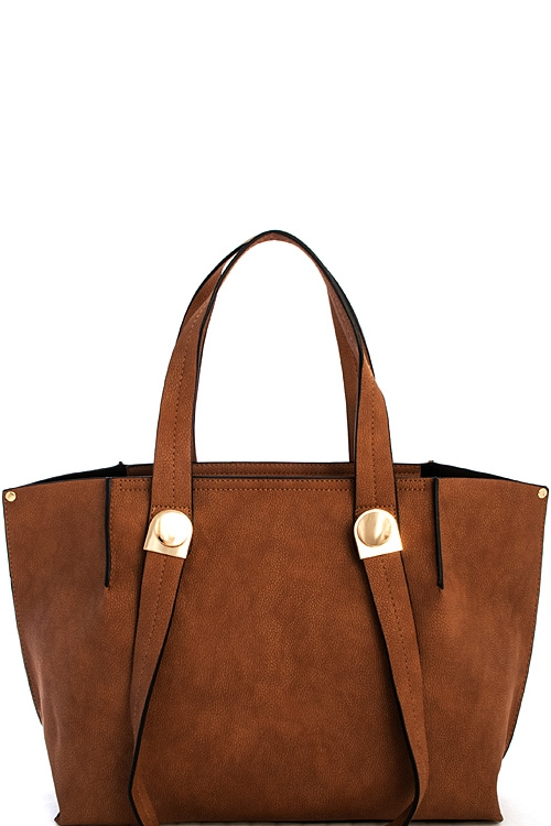 Designer Strap Shopper Bag - orangeshine.com