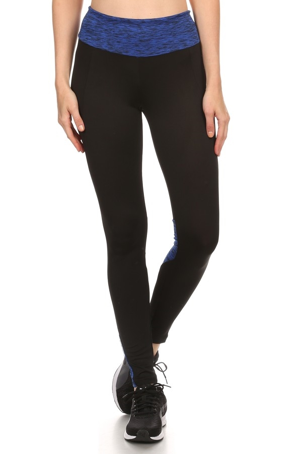 Space Dye Active Leggings Pant - orangeshine.com