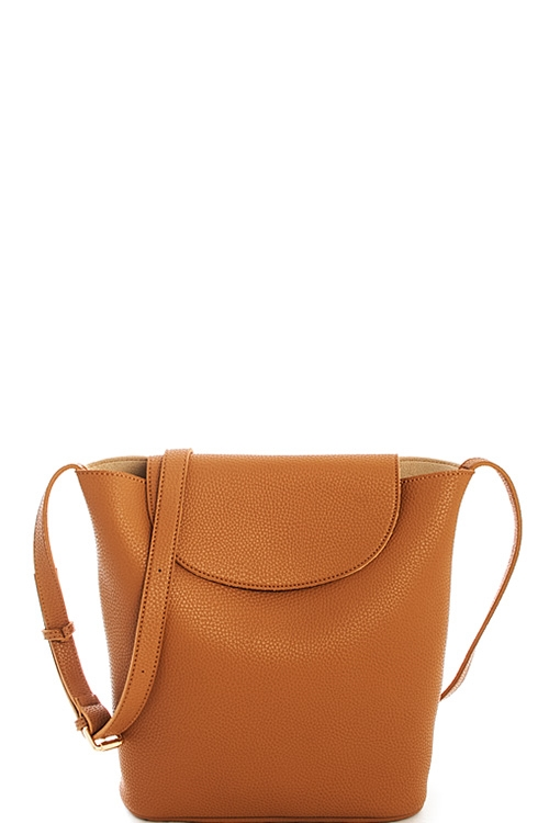 Street Level Cute Bucket Bag - orangeshine.com