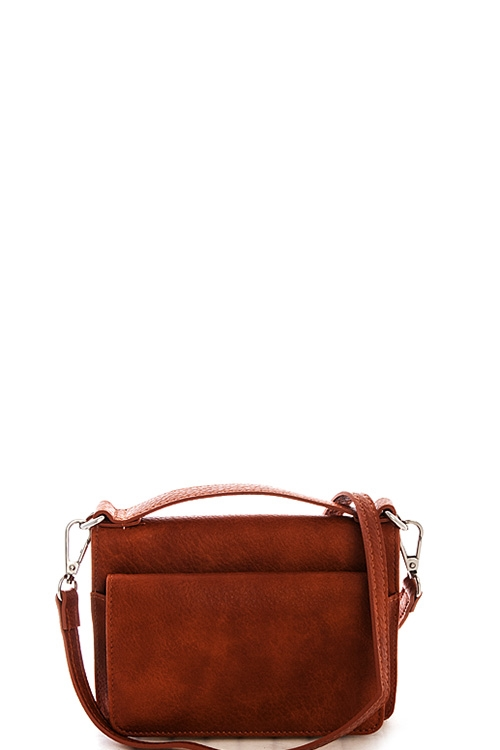 Street Level Folding Crossbody - orangeshine.com