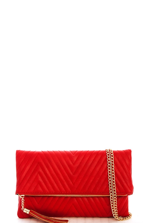 Chic Princess Tassel Clutch - orangeshine.com