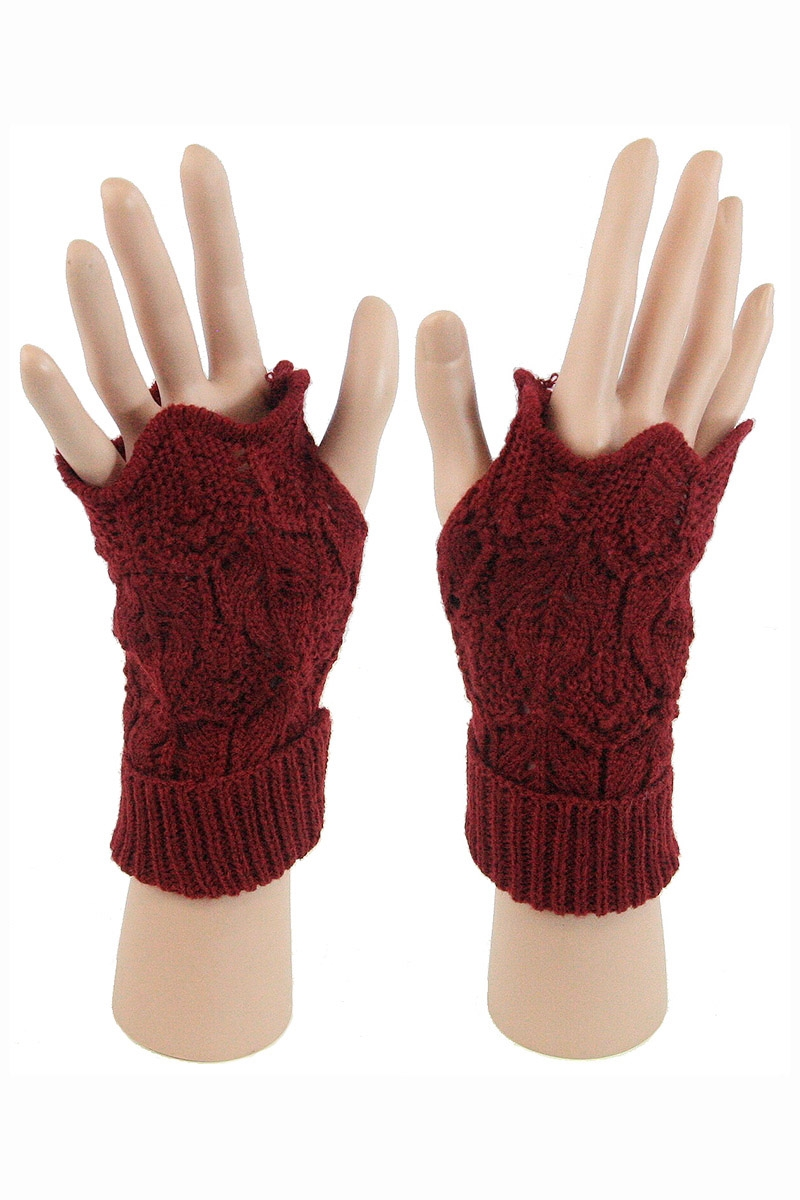 Knitted Gloves - orangeshine.com