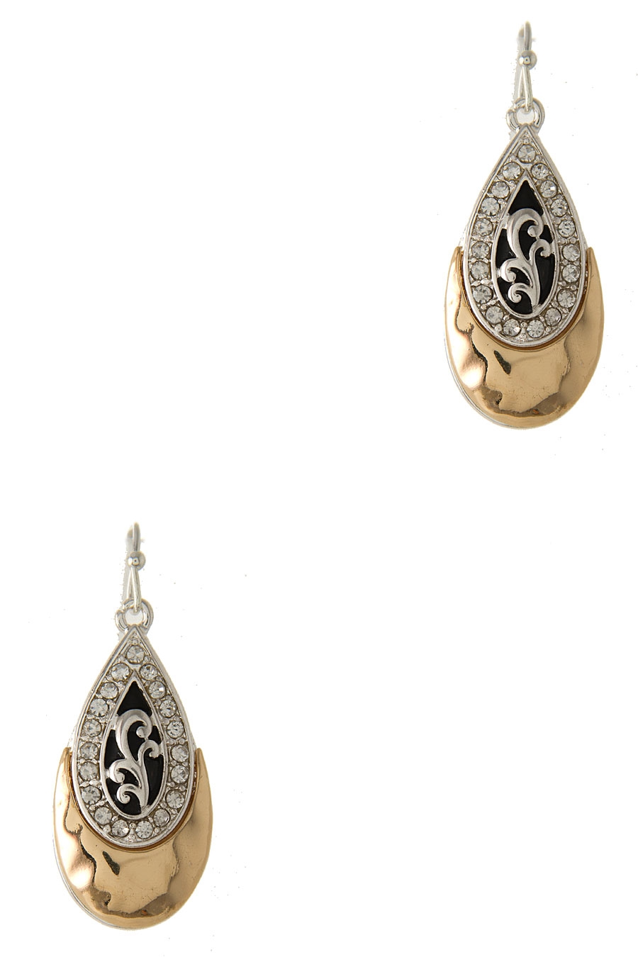 FILIGREE TEARDROP EARRING - orangeshine.com