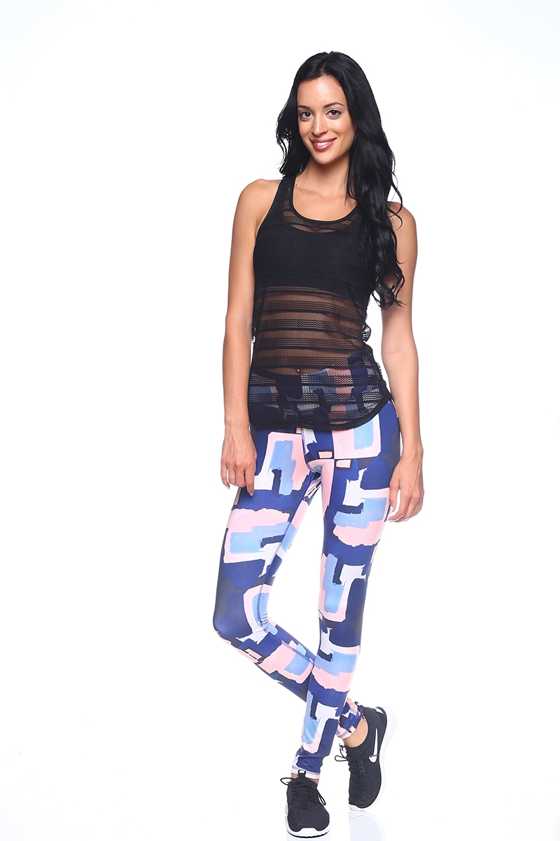 Women Workout Print Legging - orangeshine.com