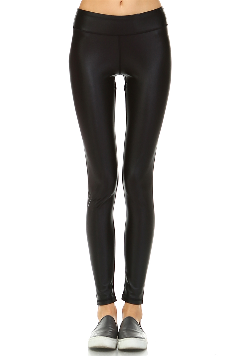 PU LEATHER LEGGINGS - orangeshine.com