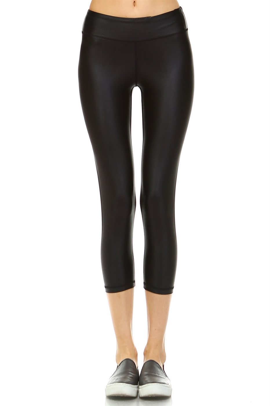 PU CAPRI LEGGINGS - orangeshine.com