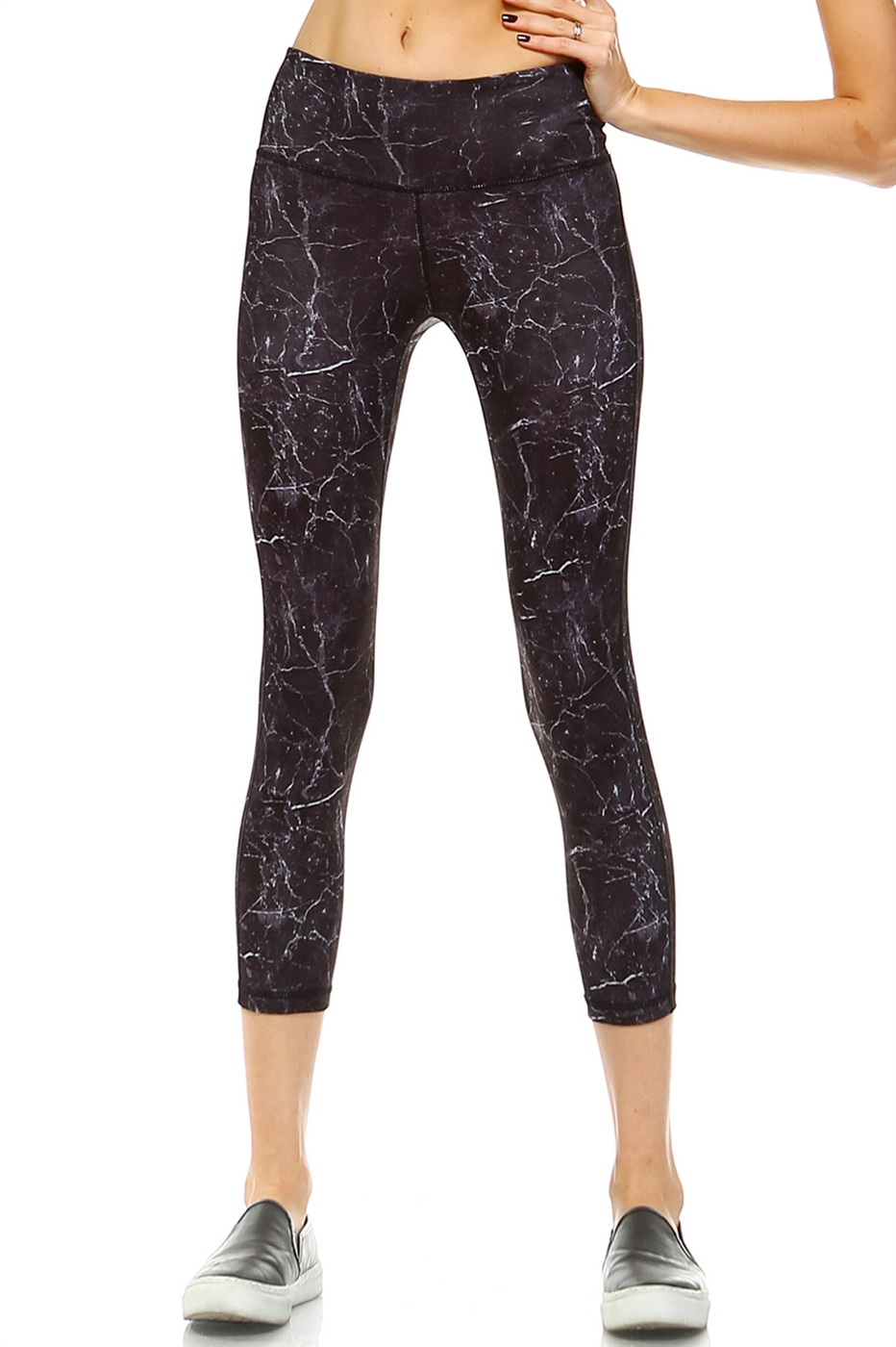 STONE PRINT LEGGINGS - orangeshine.com