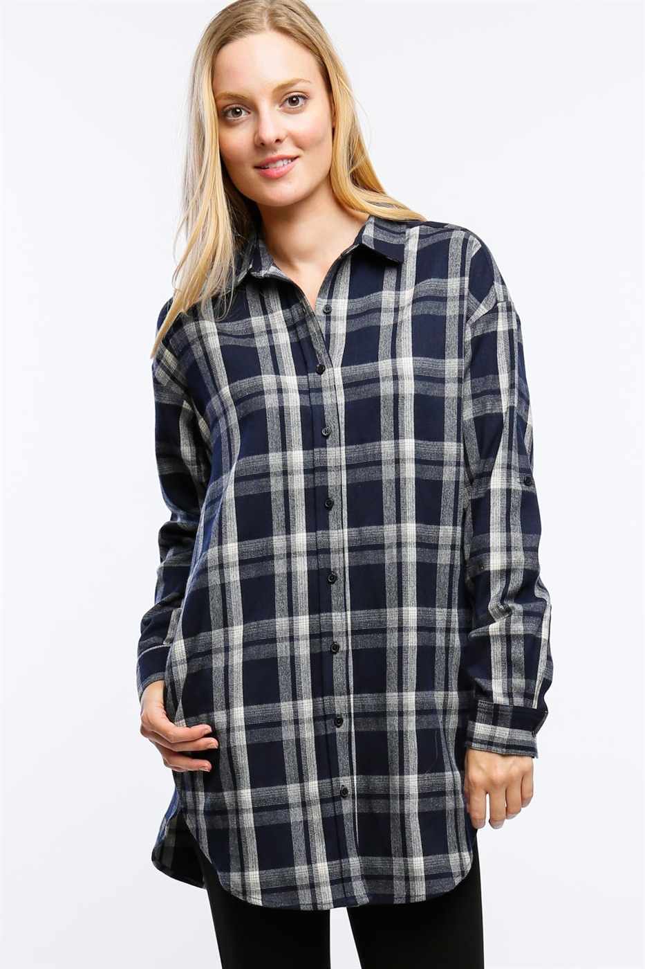 FLANNEL TUNIC - orangeshine.com