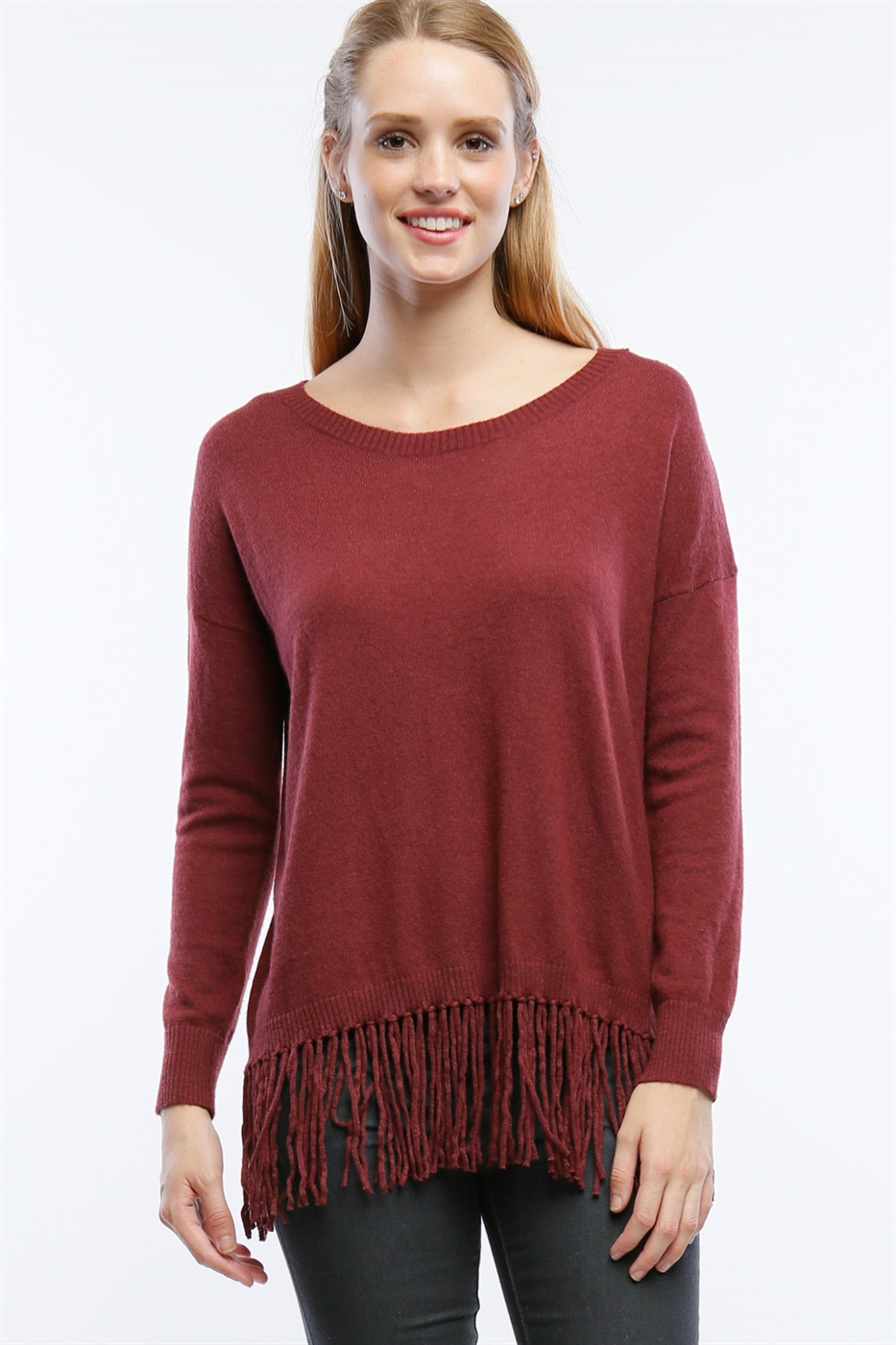 FRINGE SWEATER - orangeshine.com