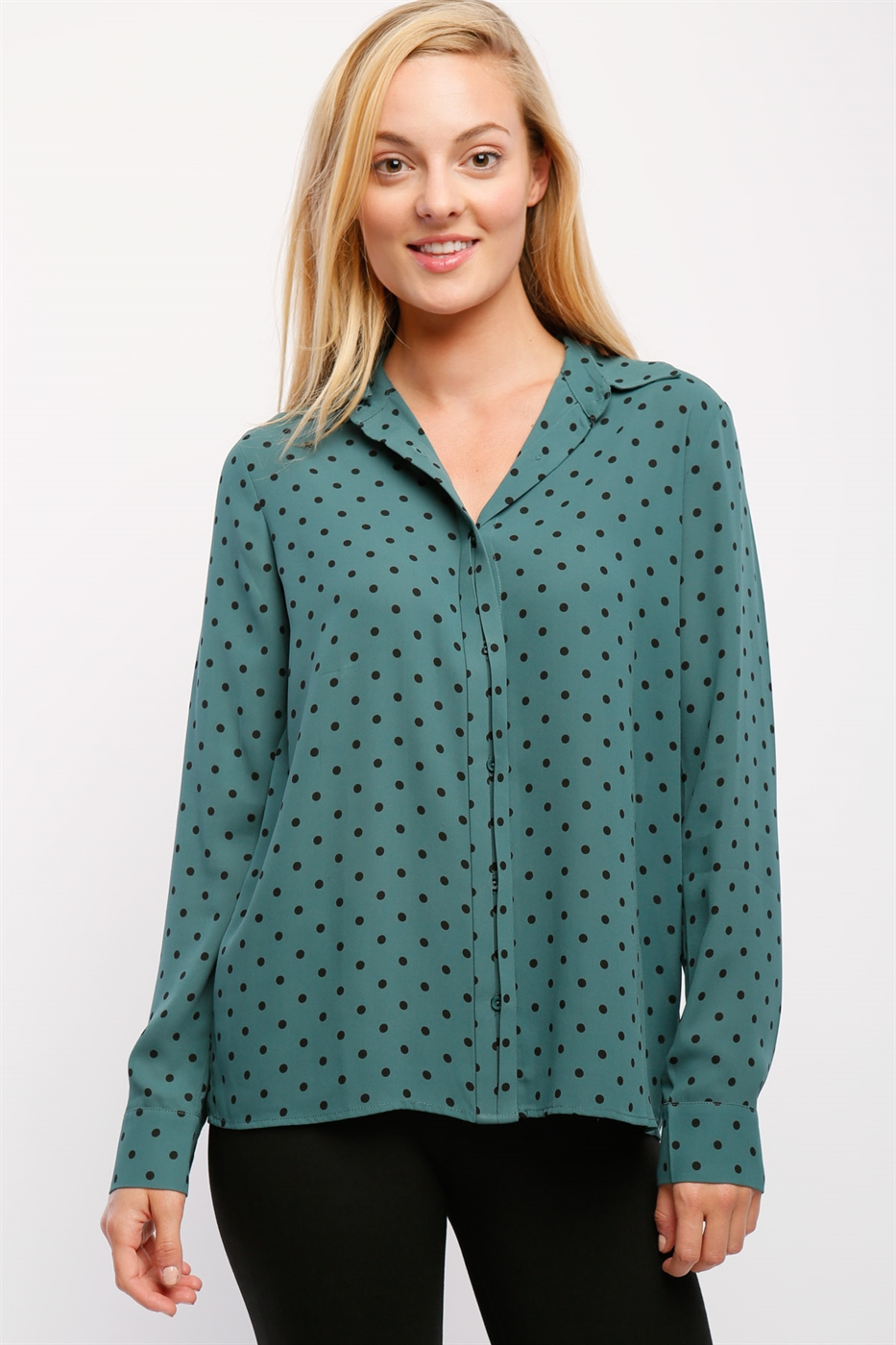 Collared Blouse - orangeshine.com