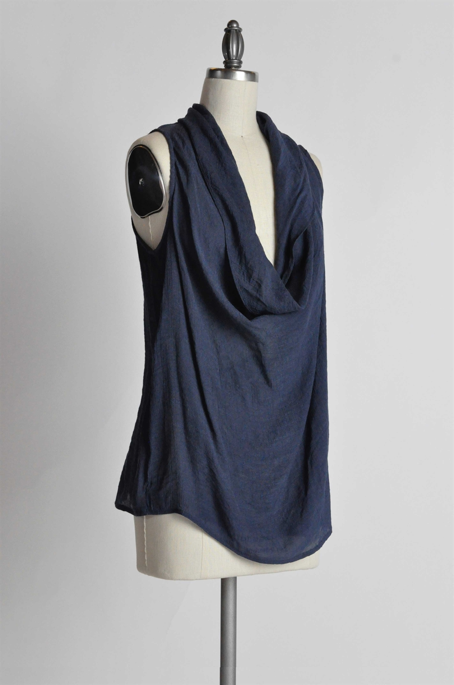 DRAPED BUTTON FRONT TANK - orangeshine.com