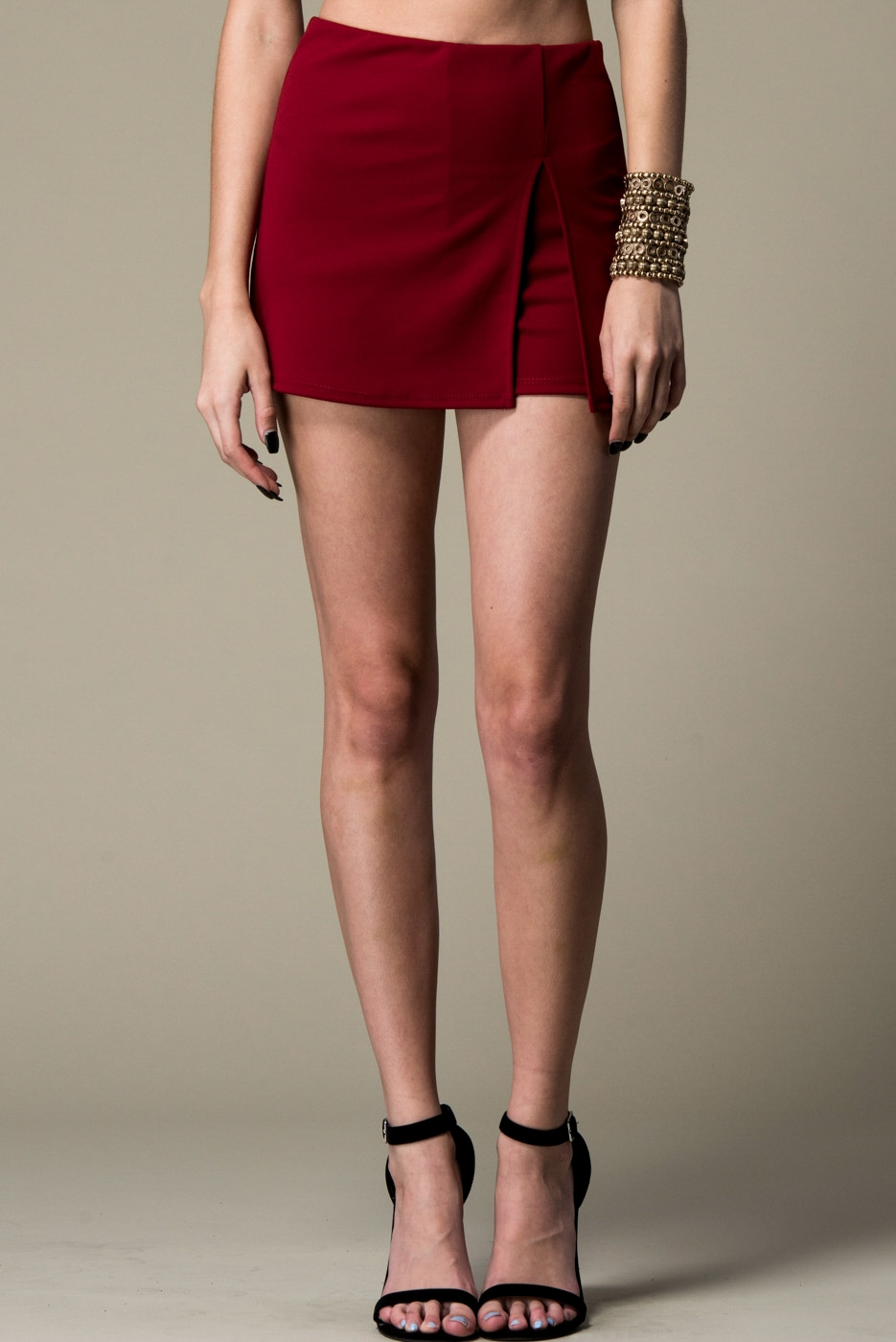 SIDE SLIT SKORT - orangeshine.com