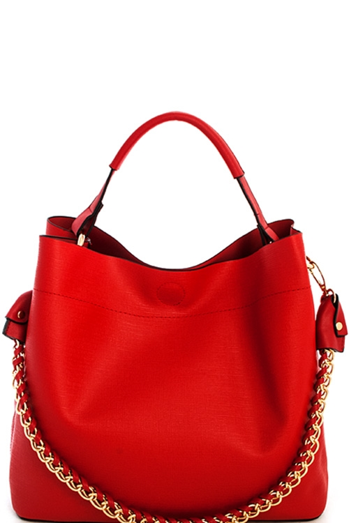 Princess Chic Chain Satchel - orangeshine.com
