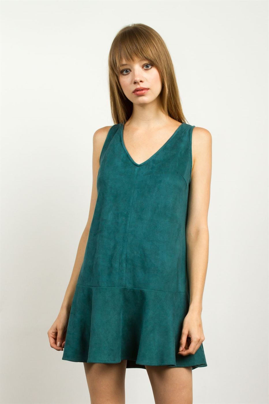 SUEDE DRESS - orangeshine.com