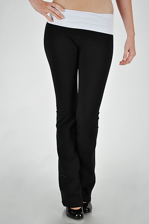 CONTRAST YOGA PANTS - orangeshine.com