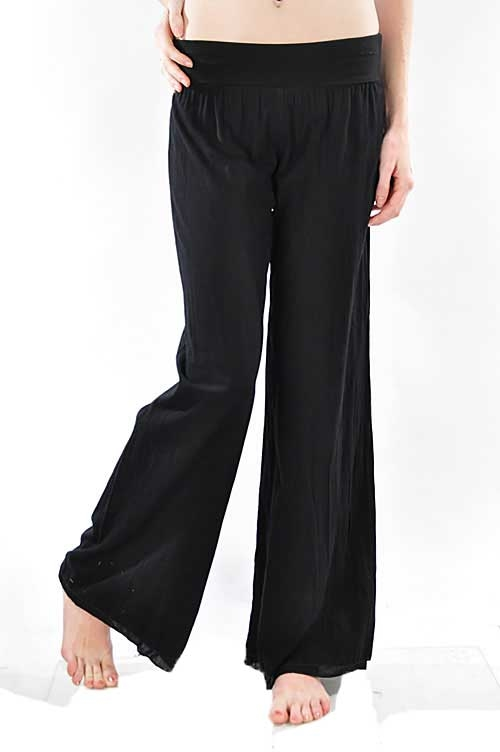 VOIL WIDE PANTS - orangeshine.com