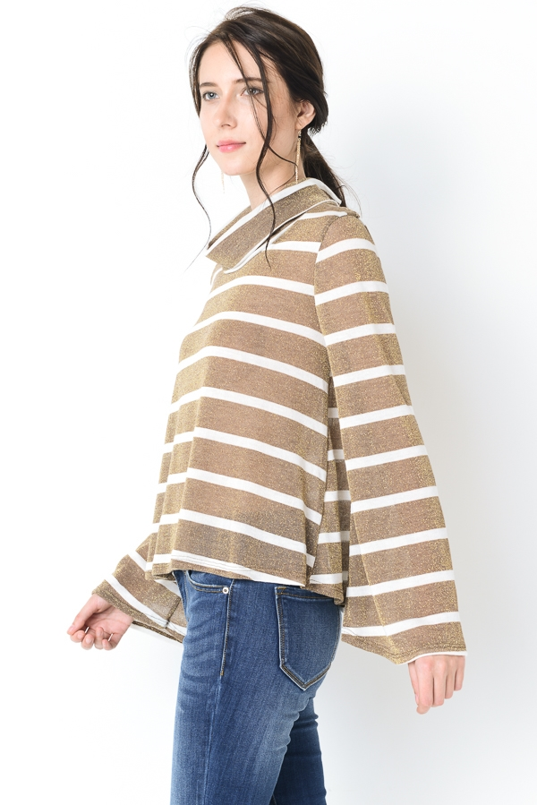 LUREX STRIPE TOP - orangeshine.com