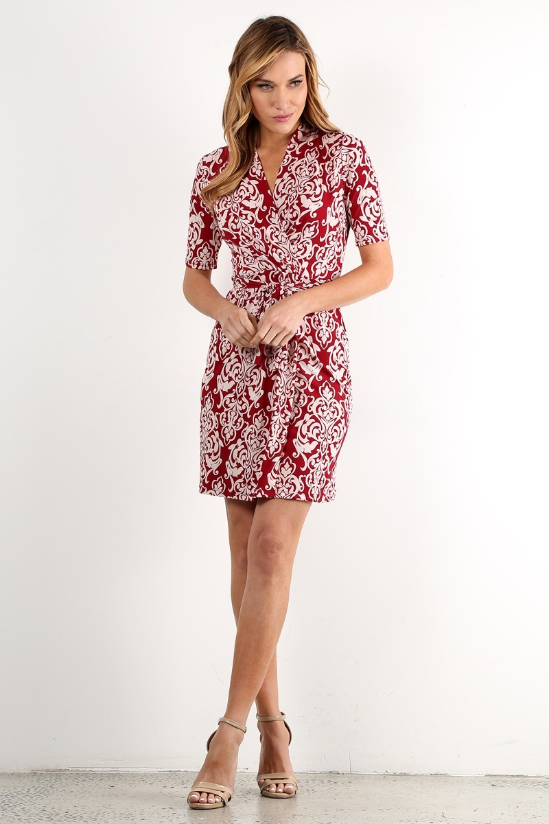 Printed Dress - orangeshine.com
