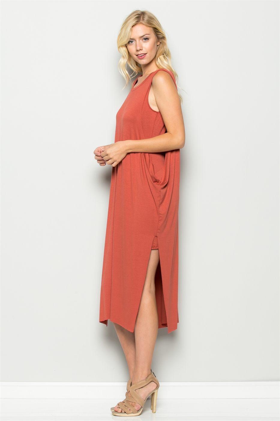 KNEE LENGTH DRESS - orangeshine.com