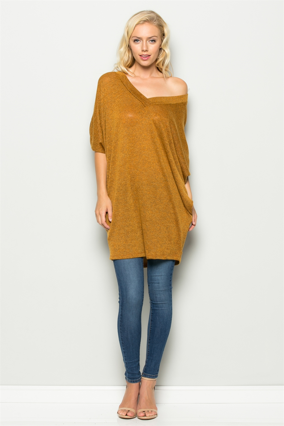 DOLMAN SLEEVE DRESS - orangeshine.com