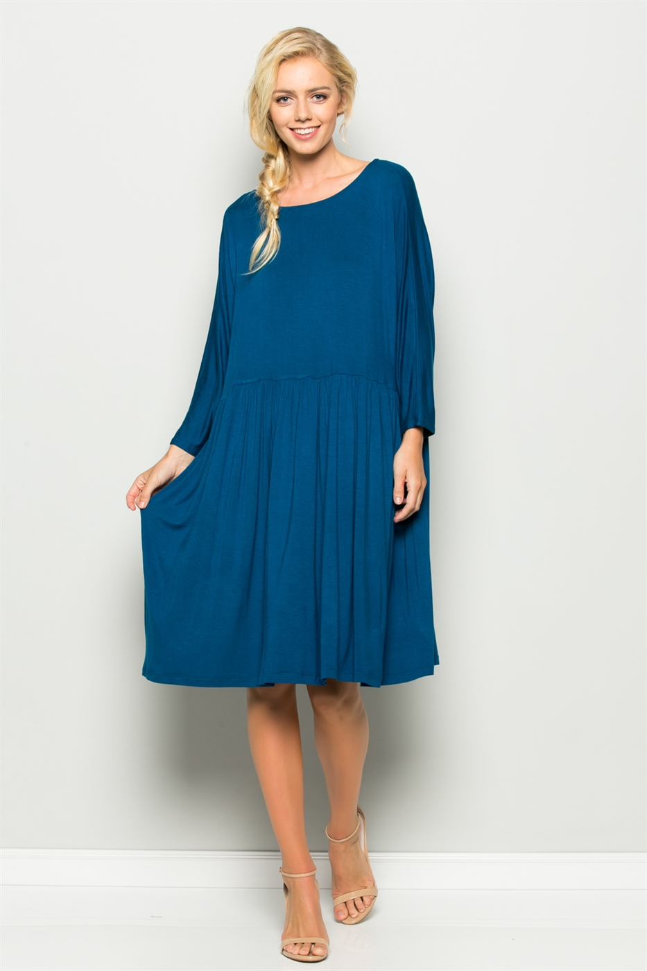 OVERSIZED BABYDOLL DRESS - orangeshine.com