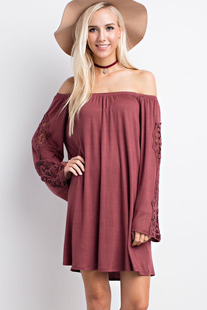 OFF-THE-SHOULDER DRESS - orangeshine.com