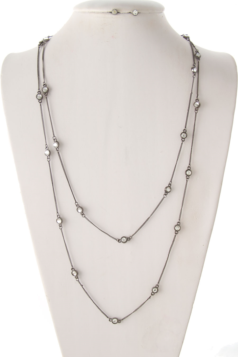 MULTI CRYSTALS PETITE NECKLACE - orangeshine.com