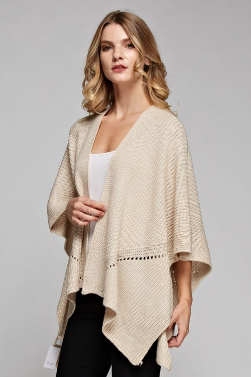 open solid poncho - orangeshine.com