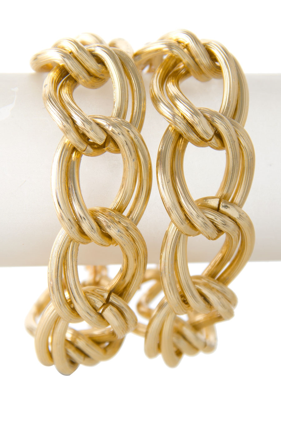 DOUBLE CHAIN ROW BRACELET - orangeshine.com