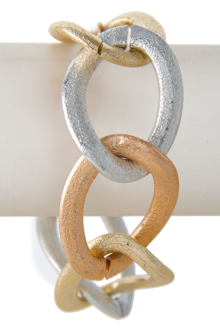 OVAL CURB CHAIN BRACELET - orangeshine.com