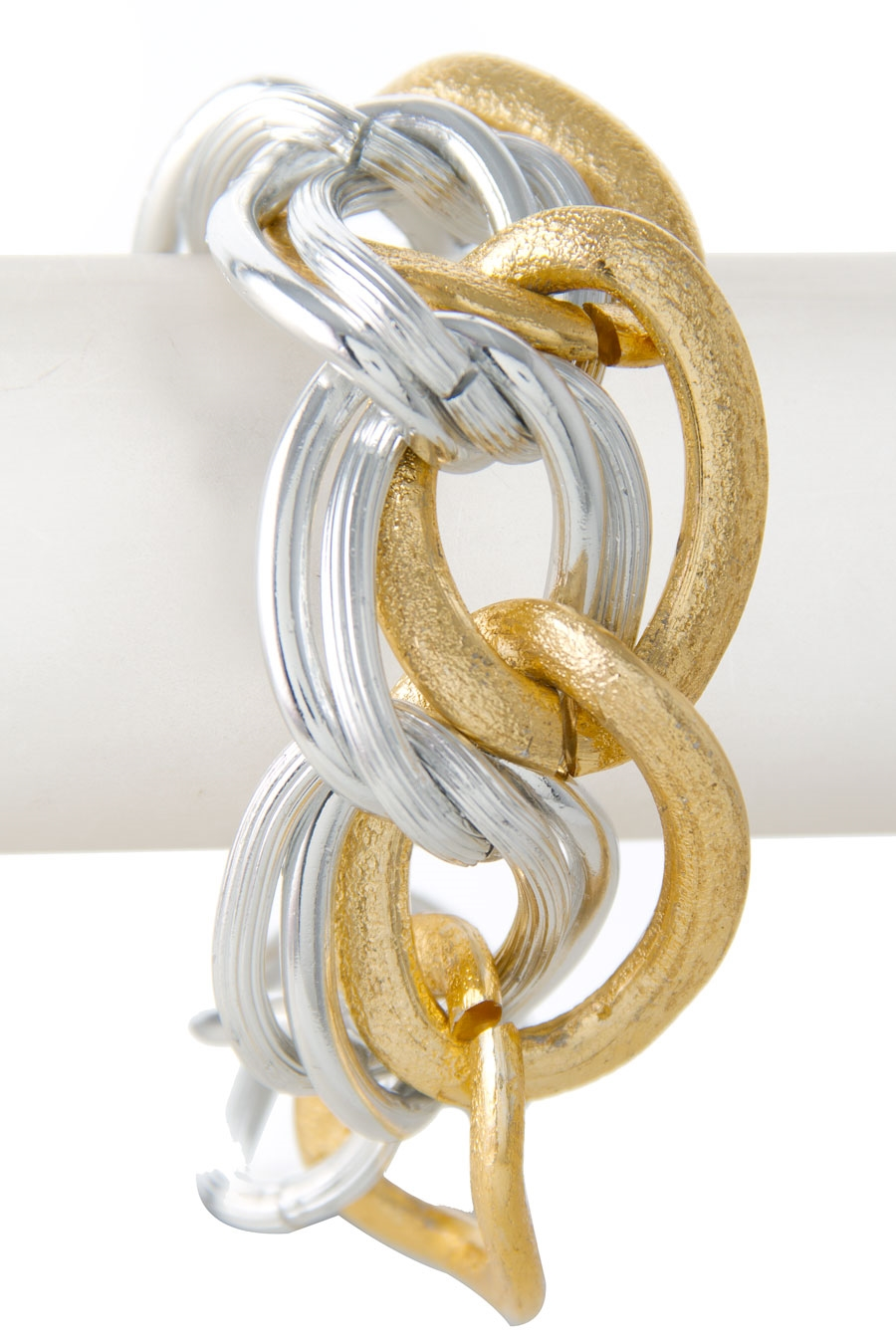 TRIPLE CURB CHAIN BRACELET - orangeshine.com