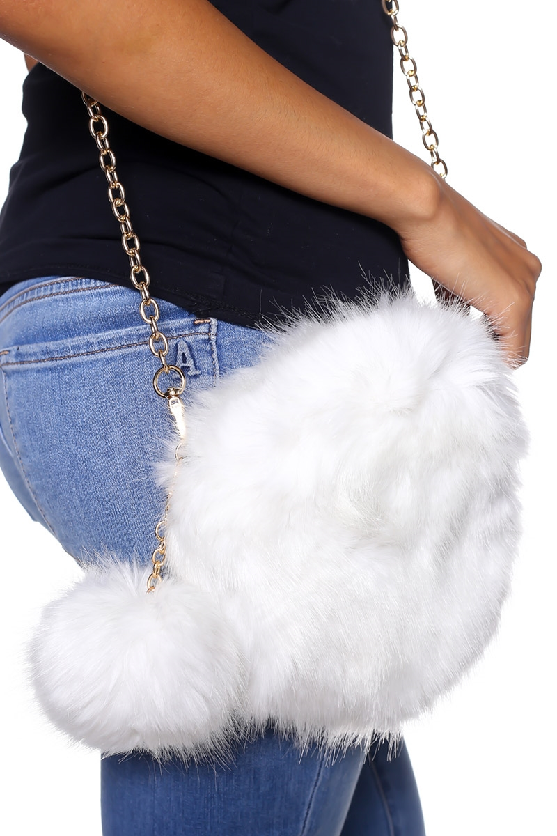 Fur Clutch - orangeshine.com