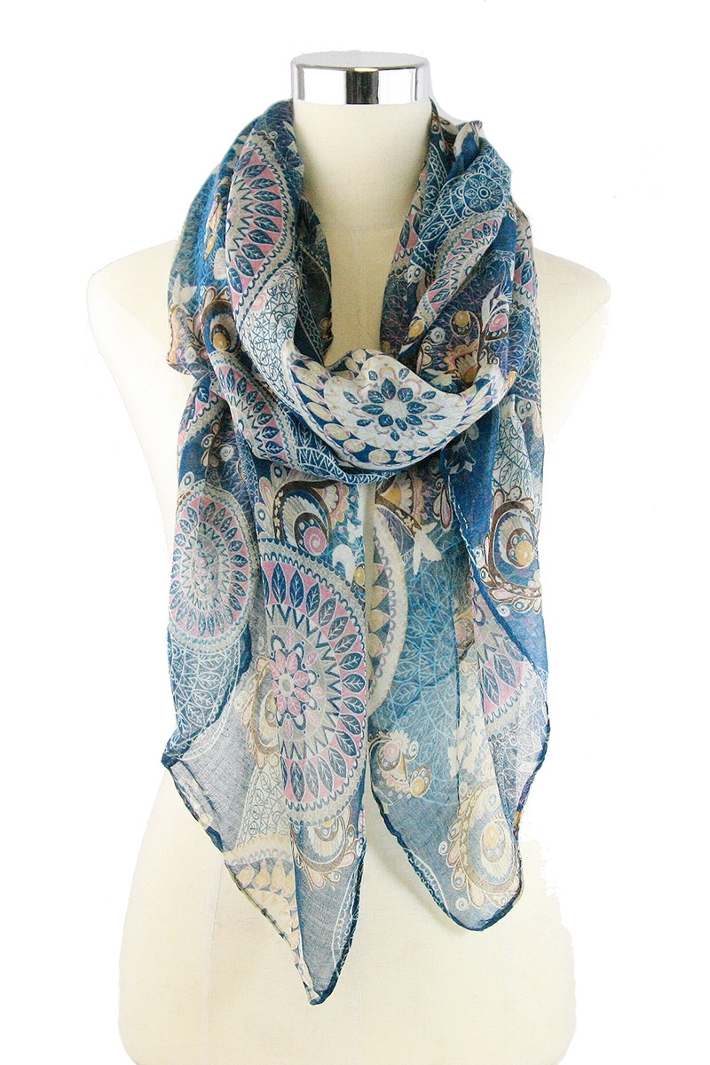 Tribal Print Scarves - orangeshine.com