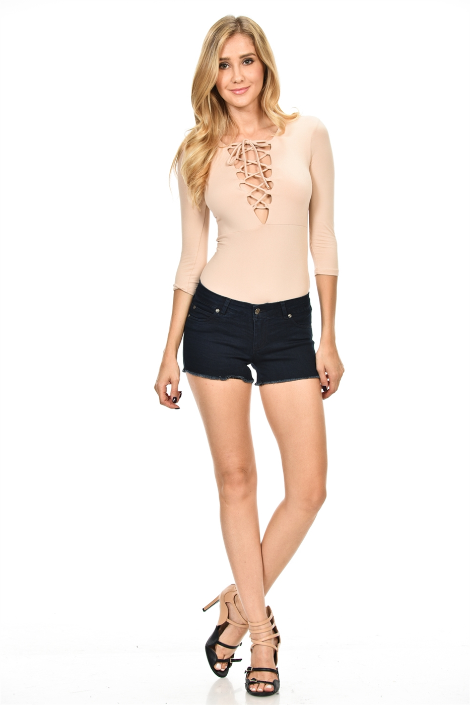 IRISH TIE DTY BLUSH BODYSUIT - orangeshine.com