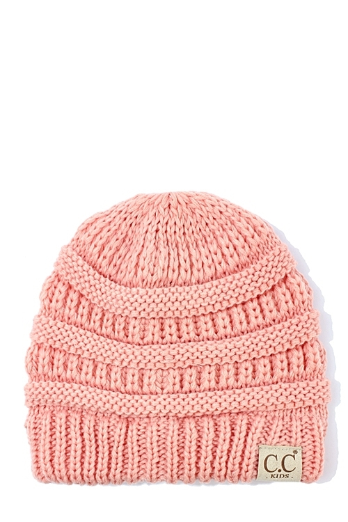 CC CHILDRENS KNIT BEANIE - orangeshine.com