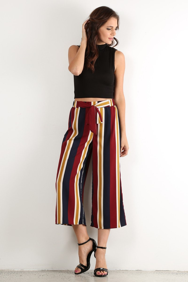 Striped Pants - orangeshine.com