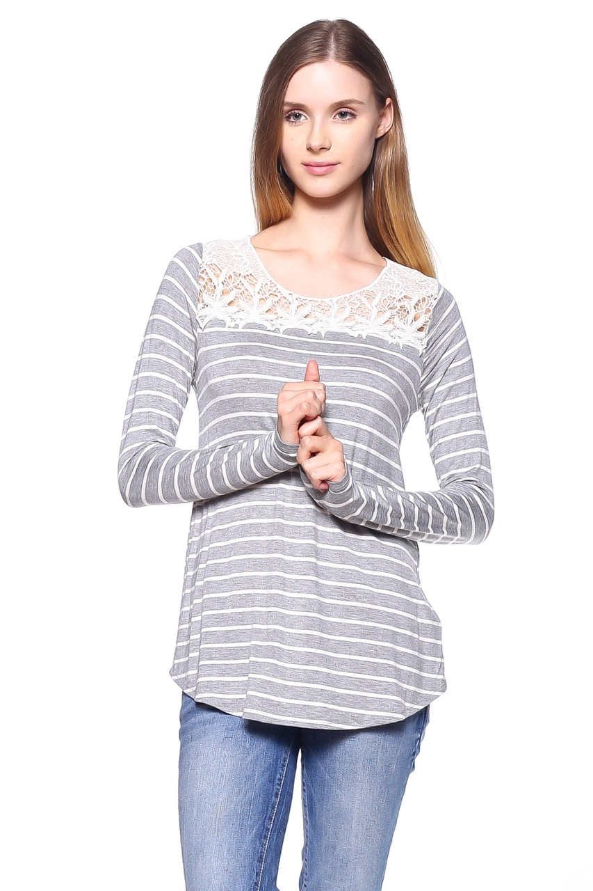 Crochet Patch Tunic - orangeshine.com