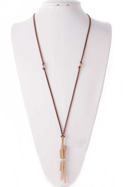 MULTI BAR FASHION NECKLACE - orangeshine.com