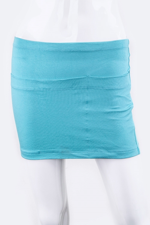 Bodycon Pockets Mini Skirt - orangeshine.com