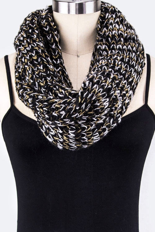 Twisted Knit Neck Warmer - orangeshine.com