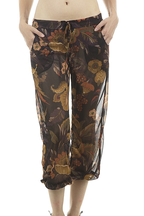 Paisley Light Beach Pants - orangeshine.com