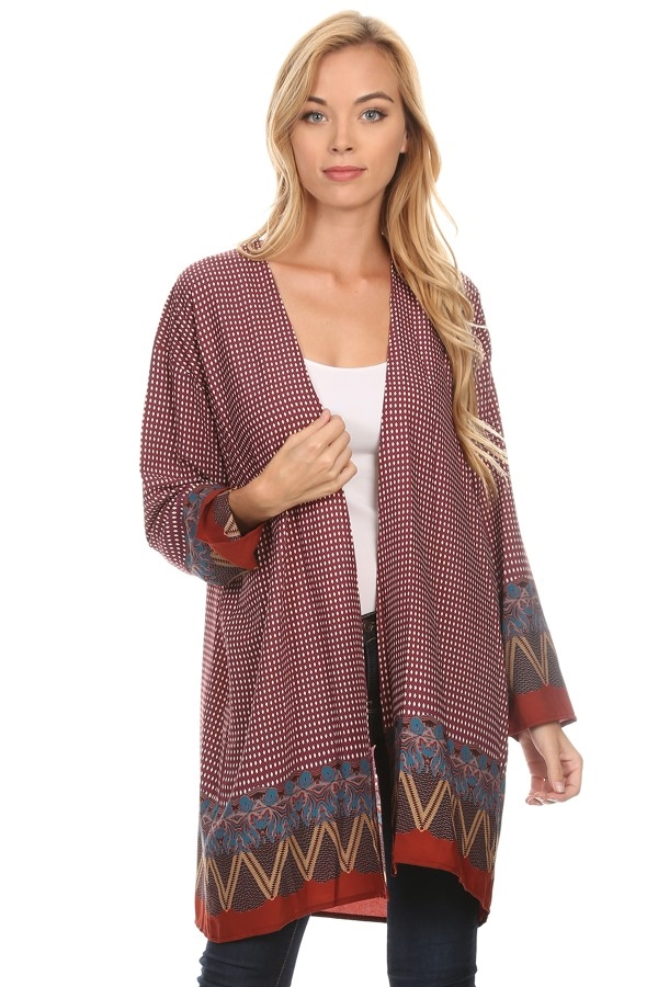 Long body cardigan - orangeshine.com