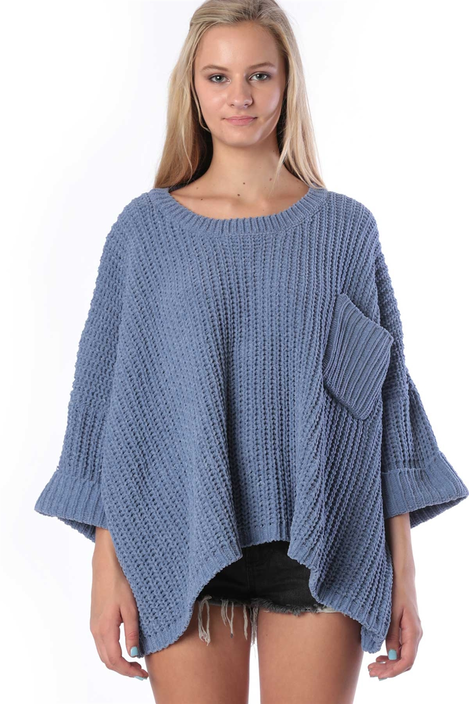 Over sized sweater - orangeshine.com