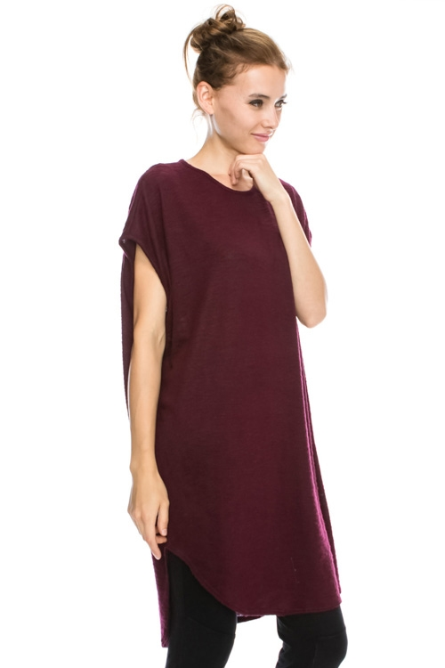 SLEEVELESS OVERSIZE TUNIC TOP - orangeshine.com