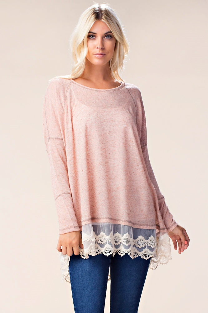 SIMPLY SIENNA SWEATER TOP - orangeshine.com