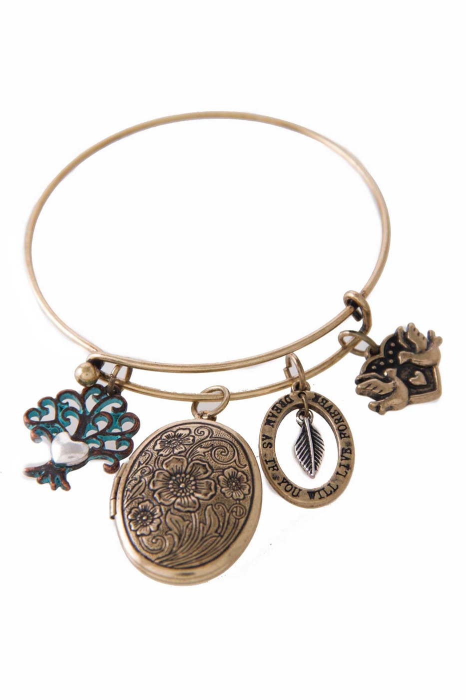 TREE OF LIFE LOCKET BRACELET - orangeshine.com