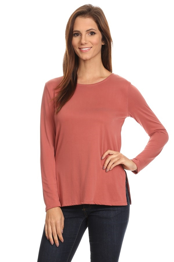 jersey Knit Top - orangeshine.com